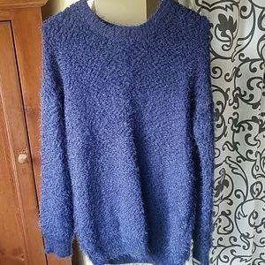 Navy Blue Forever 21 Sweater